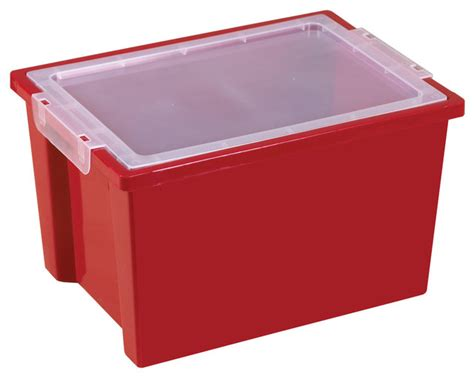 large storage bins with lid contemporary storage