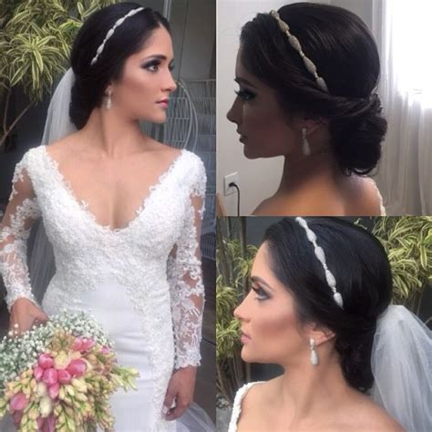Bridal Hairstyles For Length Hair With Veil by 40 Chic Wedding Hair Updos For Brides
