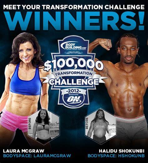 bodybuilding challenge 2012 100 000 transformation challenge