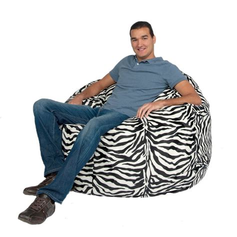 cozy sack 4 bean bag chair large navy bean bag chair large 4 foot cozy sack premium foam filled