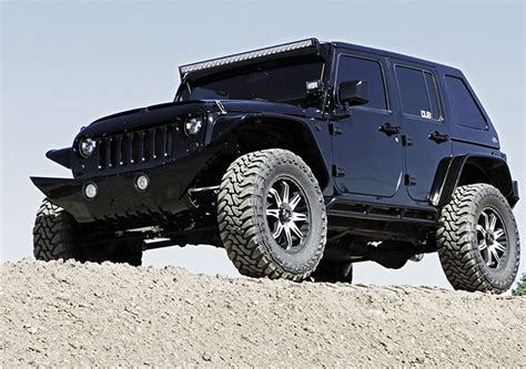 hum vee style four door jeep wrangler 4x4 featured