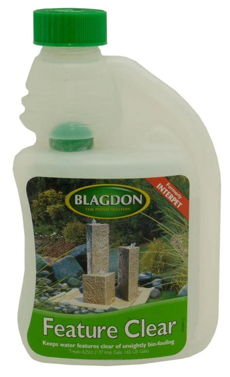 blagdon feature clear water feature treatment