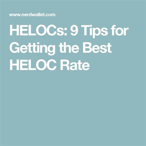 25 best ideas about heloc rates on collection
