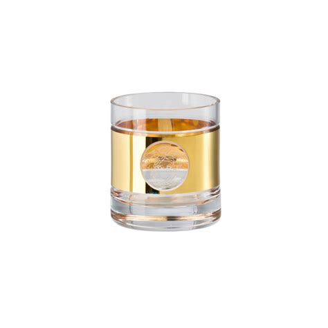 rosenthal bicchieri rosenthal versace medusa madness oro bicchiere da whisky