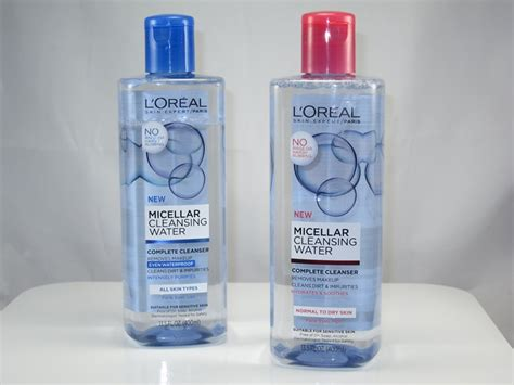 Detox Cosmetics by L Oreal Micellar Cleansing Water Review Cosmetics