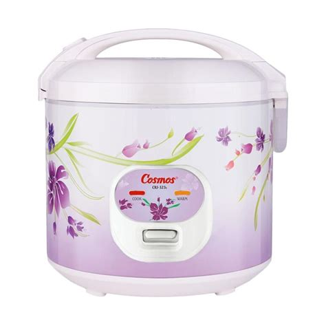 Rice Cooker Cosmos Crj 6021 jual monday day cosmos crj 323s rice cooker white