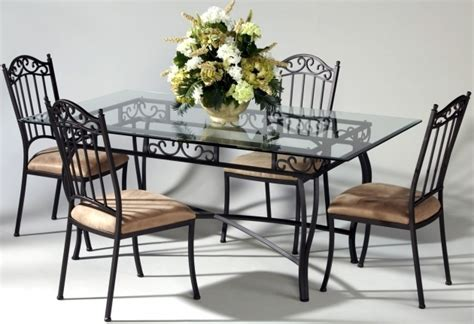 Tempat Makan Tableware Sets wrought iron kitchen chairs chair design