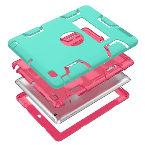 Mini 1 2 3 4 I Buy Shockproof Handle Foam Stand Casing for apple mini 1 2 3 4 heavy armor shockproof rubber stand cover ebay