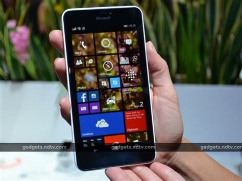 Microsoft 640 Xl mobiles launched in march 2015 pictures ndtv