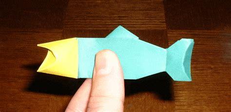 Origami Fishing Pole - singing fish gif images