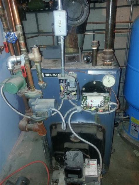 how to wire a steam boiler need help wiring a taco sr504 hydrostat 3250 boilemate to a weil mclain boiler doityourself
