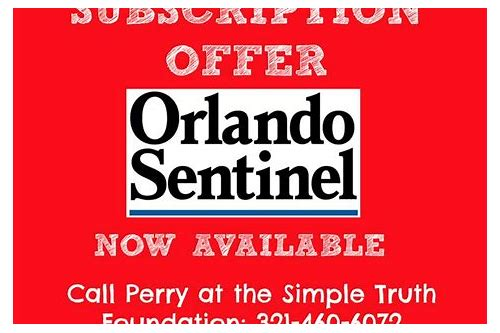 orlando sentinel coupon subscription
