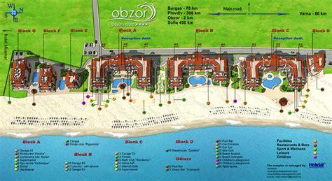 Floor Plan Home map of resort