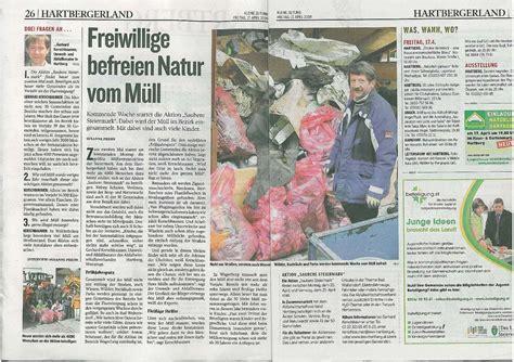 Kleine Zeitung Bad Waltersdorf by Der Bezirk Hartberg Machte Sich Stark F 252 R Die Aktion