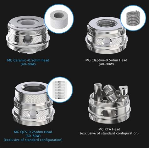 Joyetech Ultimo Atomizer Mg Rta Rebuildable Diy Spare Parts Joyetech Mg Series Heads Replacement Coils For Ultimo Tank