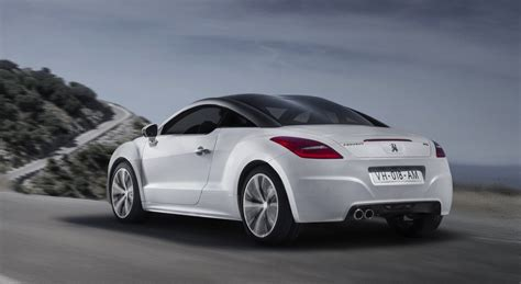 peugeot history peugeot rcz history of model photo gallery and list of