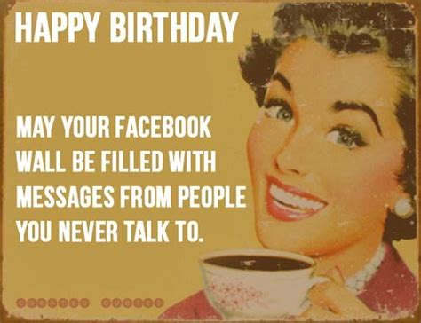 Birthday Memes For Facebook - happy birthday facebook quote pictures photos and images