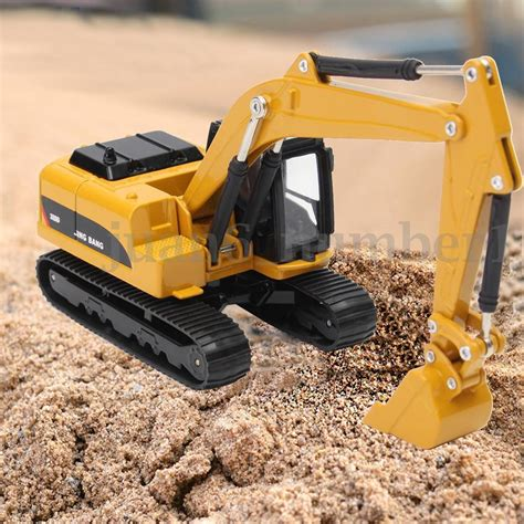 Harga Grosir Diecast Construction Car 4 Pcs Diecast Set diecast alloy turning construction vehicles excavator model gift 1 64 scale ebay