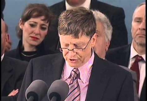 Mba Bill Gates Speech by Bill Gates Commencement Speech At Harvard