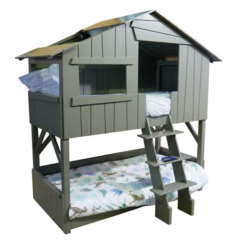 house of bedrooms kids sale mathy by bols kids treehouse bunkbed in artichoke cuckooland