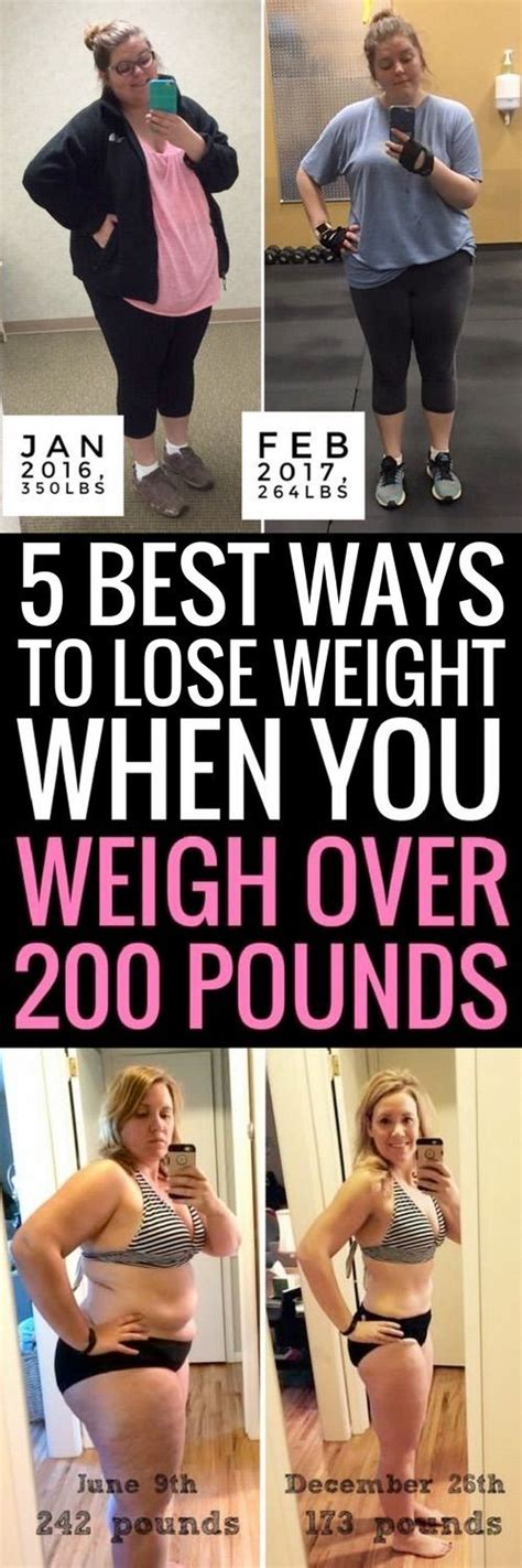 Top 8 Ways To Shed Pounds Fast by 5 Best Ways To Lose Weight If You Currently Weigh 200