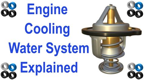 engine cooling water system works youtube