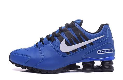 nike air shox avenue 803 blue black shoes fushoes