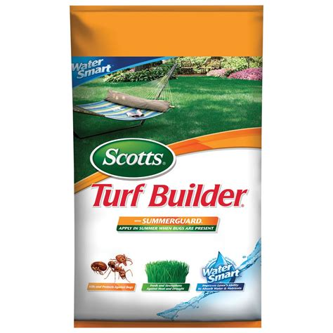 home depot layaway plan scotts 49005a turf builder 174 with summerguard 174 5 000 sq ft