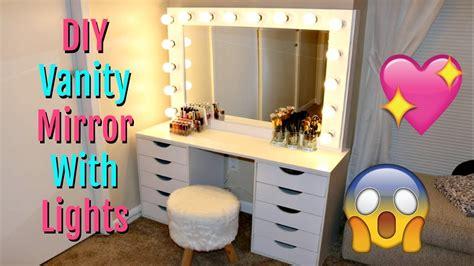 vanity mirror with lights diy vanity mirror with lights 150