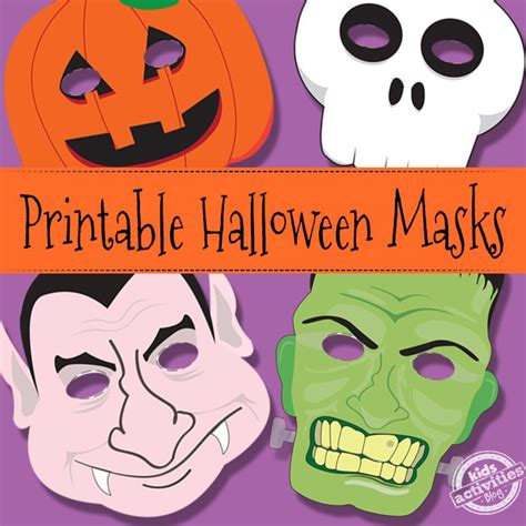printable halloween masks crafts free and printable halloween masks in pdf cisdem
