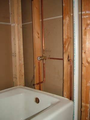 bathtub faucet leaking behind wall tub faucets ask the builderask the builder