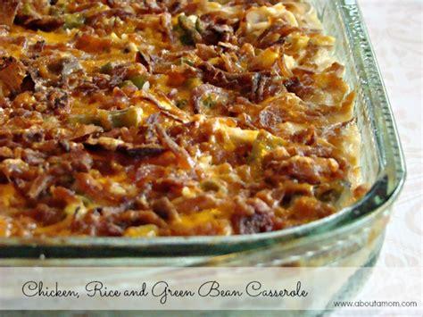 chicken rice  green bean casserole recipe   mom