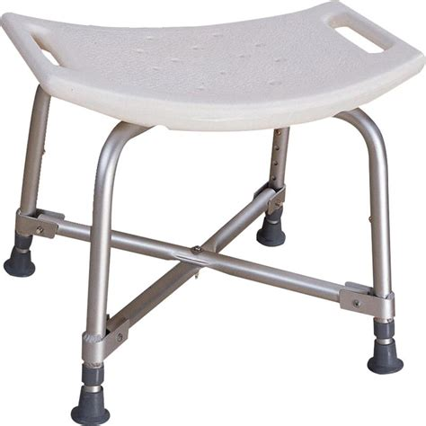 heavy duty shower bench essential medical endurance hd heavy duty white shower
