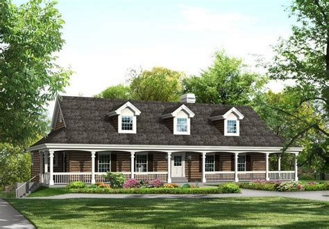 county house plans choosing country house plans with wrap around porch