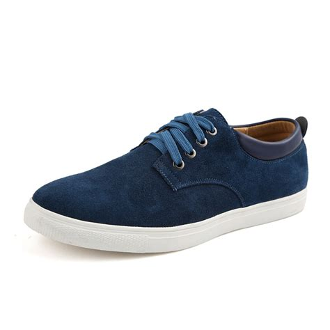 shoes comfortable men s suede leather comfortable casual shoes big size male