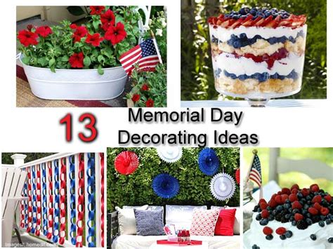 Memorial Day Decorations by 13 Memorial Day Decorating Ideas