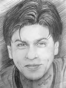 pencil sketch of shahrukh khan desipainters com
