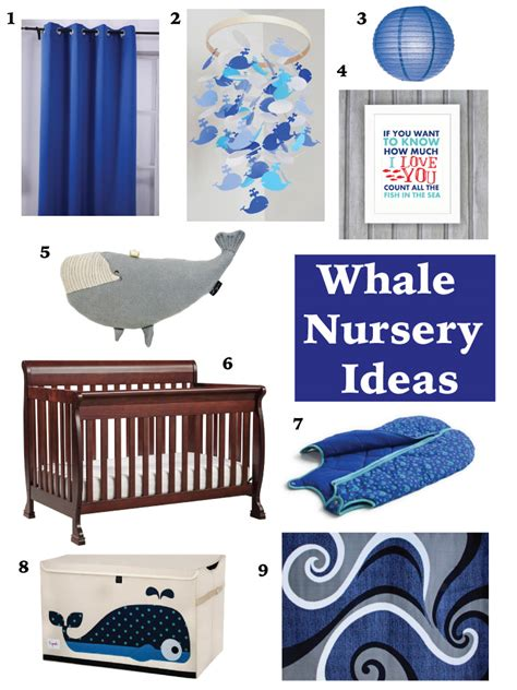 Whale Nursery Decor Whale Themed Baby Nursery Images