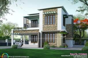 Different House Plans Two Different Elevation With Same House Plan Kerala Home Design And Floor Plans