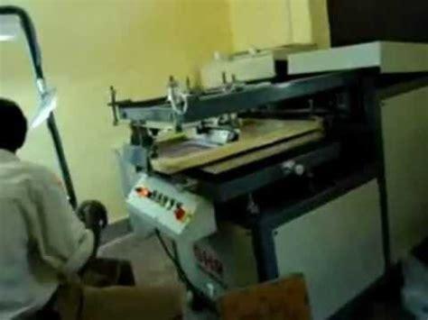 Mesin Sablon Kaos mesin sablon kaos tshirt screen printing