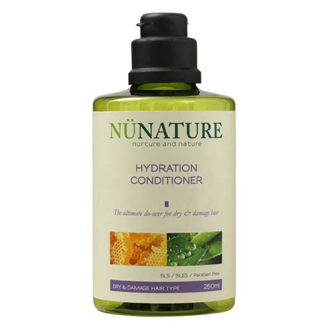 hydration hair products hydration conditioner nunature
