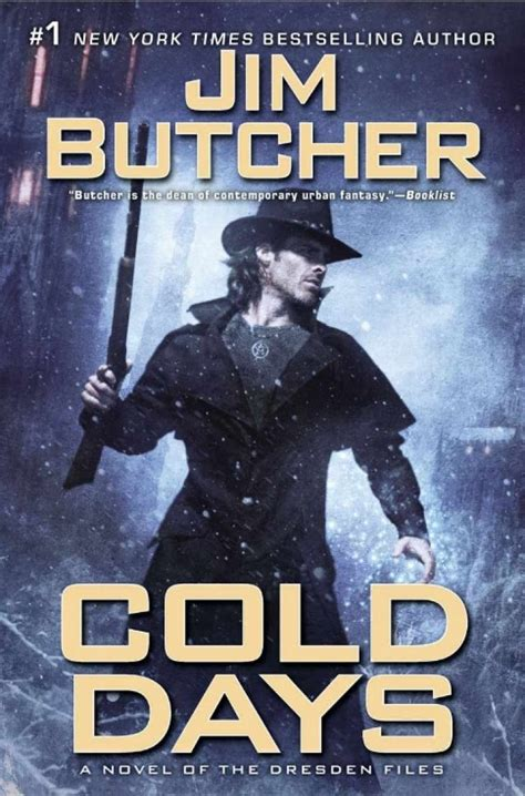a cold cold books cold days a novel of the dresden files by jim butcher