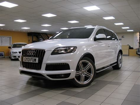 Audi Q7 Automatic by Audi Q7 3 0 Tdi Quattro S Line Plus 5dr Automatic For Sale