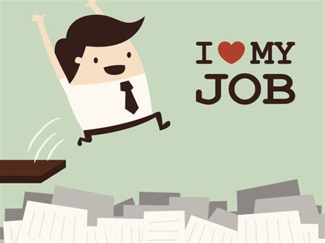 best place to find a new job is loving your job a reasonable expectation
