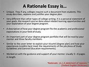 rationale of a research paper