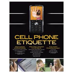 Home Decorations Catalogs motivational posters cell phone etiquette laminated poster