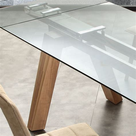 tavoli legno e acciaio albenga tavolo da pranzo allungabile in legno massello