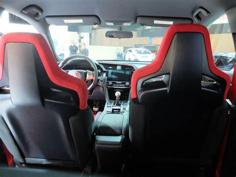 Type R Interior by Interior Look 2018 Civic Type R Prototype 2016 Honda