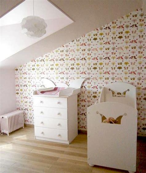 Formidable Papier Peint De Chambre #1: mur-papier-peint-chambre-enfants-L-B8b6iR.jpeg