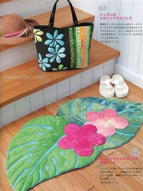 Hawaiian Patchwork Quilt - kathy s hawaiian style japanese patchwork quilt pattern